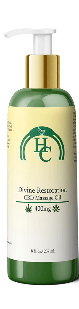 Divine Restoration CBD Massage Oil